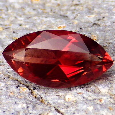 RED OREGON SUNSTONE 2.37Ct FLAWLESS-AMAZING COLOR-FOR TOP JEWELRY/INVESTM.-VIDEO
