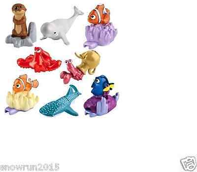 Kinder Toy Complete Set 8 Finding Dory Sd302 /303/304/305/306/307/308/309