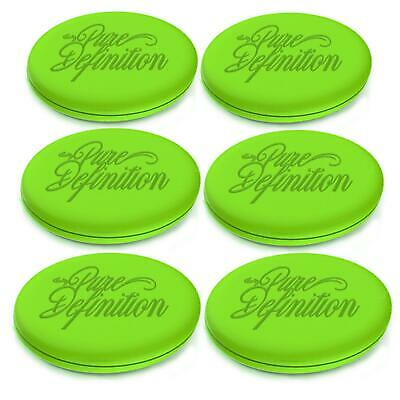 Car Wax Pad Polish Applicator Pads 6 Pack Foam Car Detailing Pure Definition