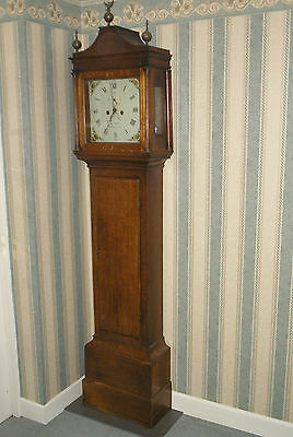 Longcase Clock 30 hour George Suggate Halesworth Suffolk Grandfather Clock