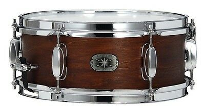 """Tama 12""""x5.5"""" snare drum in weathered Brown"""