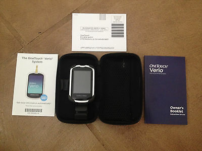 One Touch Verio IQ Blood Glucose Monitor Test System Diabetes Meter