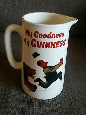 Guiness Official Merchandise Advertising Jug
