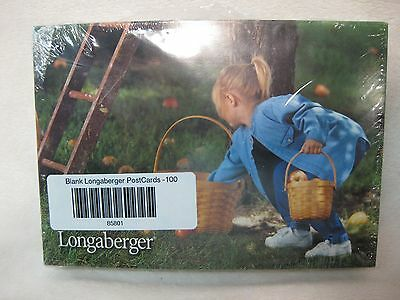 100 Longaberger Blank Postcards Variety Pack Longaberger Products Pictures Nip