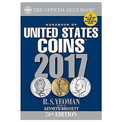 FREE 2 DAY SHIPPING: Handbook of United States Coins 2017: The Official Blue