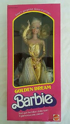 Golden Dream Barbie 1980