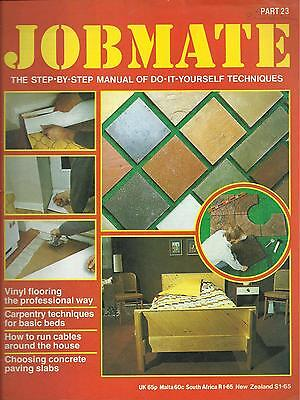JOBMATE 23 DIY -VINYL FLOORS, RUNNING CABLE, PAVING etc