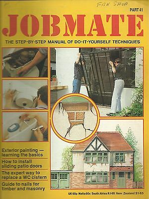JOBMATE 41 DIY EX PAINTING, PATIO DOORS, WC CISTERN etc