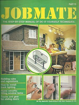 JOBMATE 73 DIY - BUILDING REGS, LIGHTING, SECURITY etc