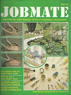 JOBMATE 35 DIY -TILED ROOFS, WOOD FLOORS, ELECTRICS etc