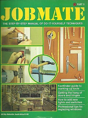 JOBMATE 8 DIY -HANGING DOORS PATHS TOOLS ELECTRICS etc