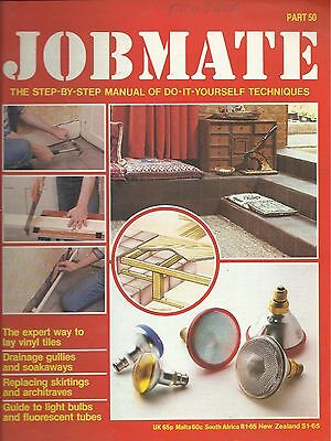 JOBMATE 50 DIY VINYL TILES, DRAINAGE, REPLACING SKIRTINGS, FLUORESCENT TUBES etc