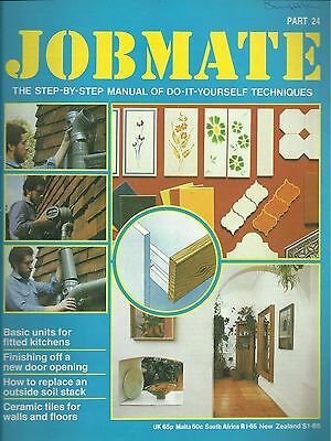 JOBMATE 24 DIY - CERAMIC TILES, REPLACE SOIL STACK etc