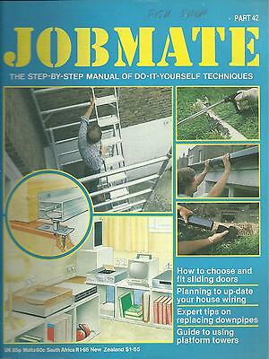 JOBMATE 42 DIY - SLIDING DOORS, WIRING, DOWNPIPES etc