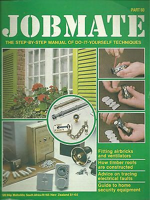 JOBMATE 60 DIY - AIRBRICKS VENTS, ROOFS, ELECTRICS etc