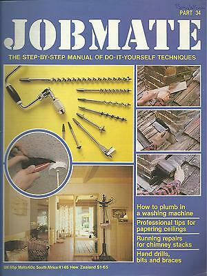 JOBMATE 34 DIY -WASHING MACHINE, PAPERING, CHIMNEYS etc