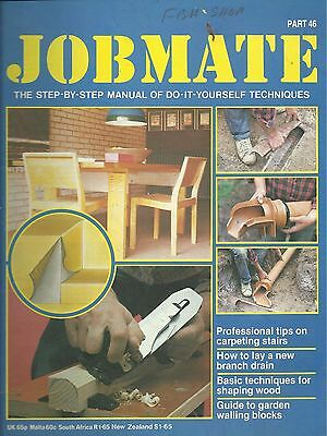 JOBMATE 46 DIY -CARPETING, DRAINS, SHAPING WOOD etc