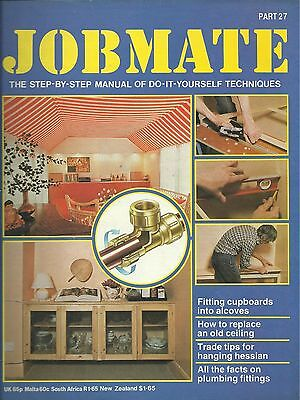 JOBMATE 27 DIY -REPLACE CEILINGS, PLUMBING, HESSION etc