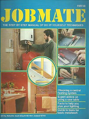 JOBMATE 66 DIY CENTRAL HEATING, LIGHTING, METALWORK etc