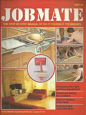 JOBMATE 29 DIY - REPLACE A HOT TANK, CONCRETE FLOOR etc