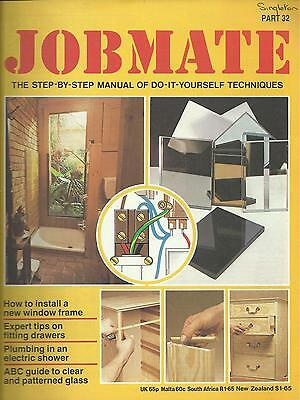 JOBMATE 32 DIY - WINDOWS, DRAWERS, SHOWERS, GLASS etc