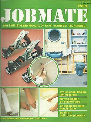 JOBMATE 20 DIY - LAYING CARPET, PLASTERING, PLANES etc