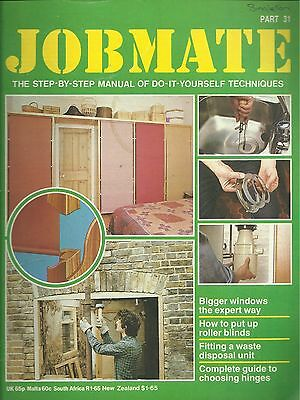 JOBMATE 31 DIY - ROLLER BLINDS, WINDOW INSTALLATION etc