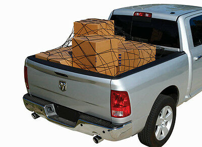 "New 60""X72"" Elastic Bungee Pick Truck Trailer Cargo Bed Cargo Net with 10 Hooks"