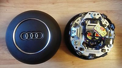 Original Airbag Audi Tt 8J Tts Ttrs S3 S4  Rs4 Rs6 R8 Complete With Wires / Plug