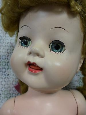 """Darling 22"""" Saucy Type Walker Doll in Hand Made Outfit...Beautiful Eyes!"""