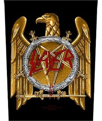SLAYER BACK PATCH New Official EAGLE