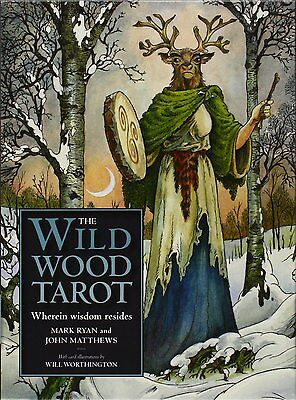 Wildwood Tarot  New Sealed 78 Cards & 160 pg Guide Pagan Psychic Fortune Telling