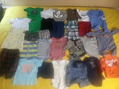 Baby Boy Clothes Size 6-9 Month. 29 Piece Lot.