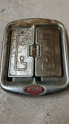 Original Vintage Buick 1930s Heater cover Shell