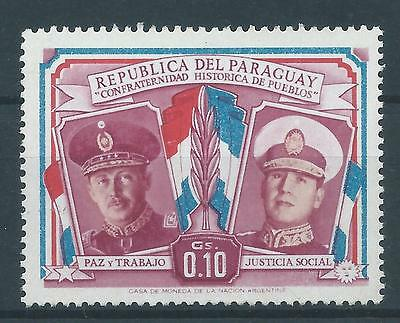 MLHOG mid 20th Century Postage Stamp of PARAGUAY.