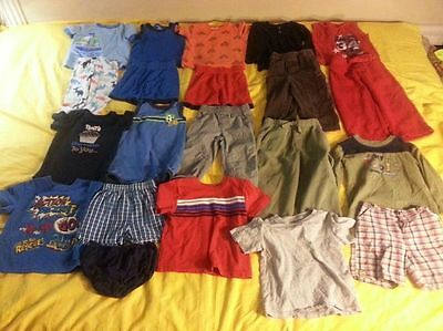 Baby Boy Clothes Size 24 Month. 21 Piece Lot.