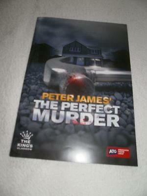 programme Kings Theatre Glasgow *THE PERFECT MURDER* March 2014 Les Dennis