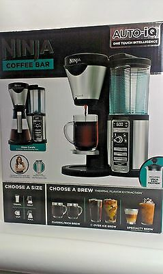 New Ninja Coffee Bar™ with Glass Carafe and Auto-iQ™ One Touch Intelligence