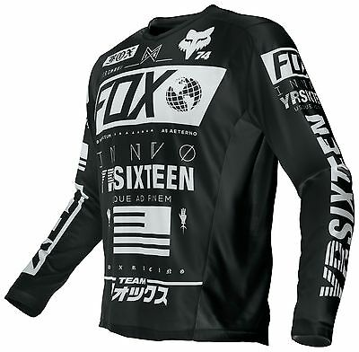 FOX Nomad Union Jersey Black Size LARGE