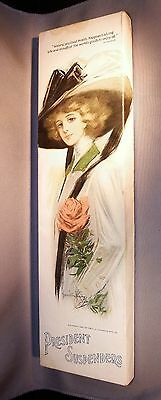 "Scarce 1910 Art Nouveau Box for President Suspenders ""In Holiday Packages"""