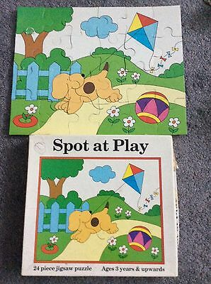 Spot At Play 24 piece jigsaw puzzle large thick pieces