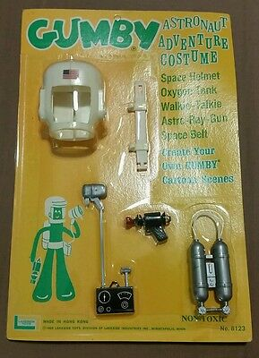 Vintage 1965 Lakeside Toys GUMBY ASTRONAUT ADVENTURE COSTUME Unpunched!