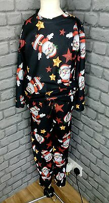 girls age 8/9 yrs brand new  fun Christmas  Santa Claus  Lounge  suit