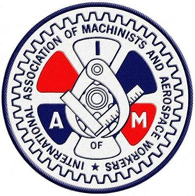 International Association of Machinists & Aerospace Workers - IAM - Union Patch