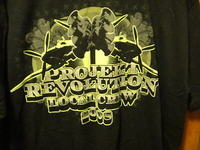 LINKIN PARK ~ RARE LOCAL CREW ONLY ~ PROJEKT REVOLUTION TOUR 2008 ~ XL ~ T Shirt