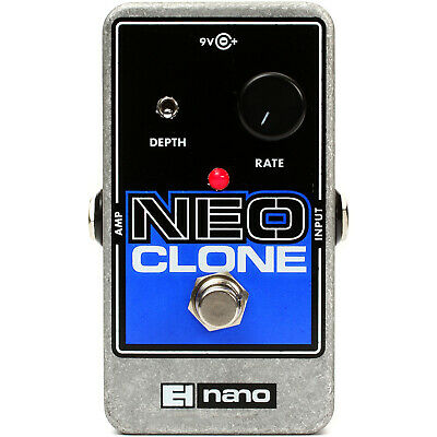 New Electro-Harmonix NEO CLONE Analog Chorus Guitar Effects Pedal +Free Shipping