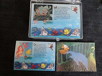 Little Mermaid Collector Cards - Full Set In Plastic Box