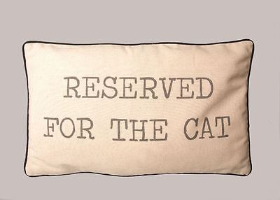 Reserved For the Cat Cushion Sass & Belle with stuffing