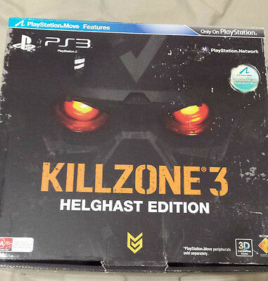 Killzone 3 Helghast Edition PS3 PAL AUS Factory Sealed