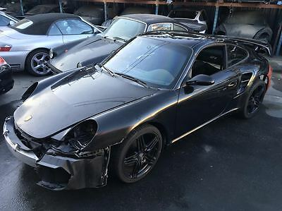 2008 Porsche 911 GT2 Coupe 2-Door 2008 Porsche 911 GT2 Coupe Salvage Body Chassis with Original Engine Project